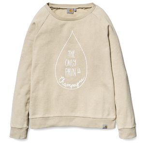 W' Champagne Drop Sweatshirt