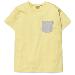 W' S/S Contrast Pocket T-Shirt